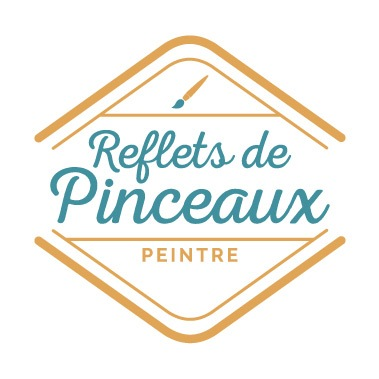Logo pour une peintre